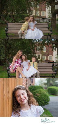 Smithville Mansion, South Jersey Photography, Communion Photography, Smithville Mansion Communion Photographer