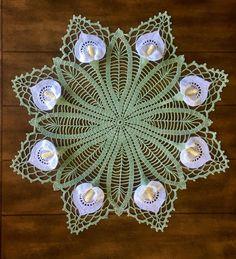 Items similar to Lily Crochet Doily - Peace Lily - Lace Doily - Spring Decor - Farmhouse Decor - Handmade Doilies - Vintage Home Decor - Wedding Gift on Etsy Mandala Au Crochet, Crochet Daisy, Crochet Doily Patterns, Vintage Crochet, Crochet Doilies, Crochet Flowers, Hand Crochet, Flower Patterns, Crochet Bikini