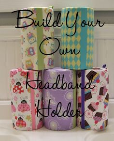 JOMARIE SODEN - THIS IS FOR YOU!!!!!  Headband Holder. Customize. Hair Accessory Organizer. Storage. Girls. Teens.. $25.00, via Etsy.