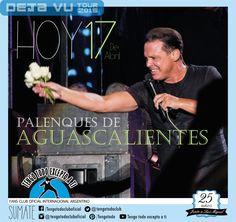 17-04-2015 - Deja Vu Tour 2015- Palenque de Aguascalientes, Mexico Tengo Todo Excepto a Ti, fans club oficial internacional Argentino-  Desde 1990 Junto a Luis Miguel Seguinos en todas nuestras redes sociales: FACEBOOK:  https://www.facebook.com/pages/Tengo-Todo-Excepto-A-Ti/595464773913653 TWITTER: @tengotodoclub - INSTAGRAM: @Tengotodocluboficial - y también en nuestro canal de YOUTUBE- o escribinos al MAIL: tengotodocluboficial@gmail.com