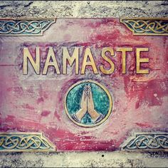 'The gesture Namaste represents the belief that there is a divine spark within each of us that is located in the heart chakra ❤ YOGA Yoga Meditation, Namaste Yoga, Namaste Quotes, Namaste Art, Namaste India, Yoga Studio Design, Yoga Inspiration, Religion, Mudras