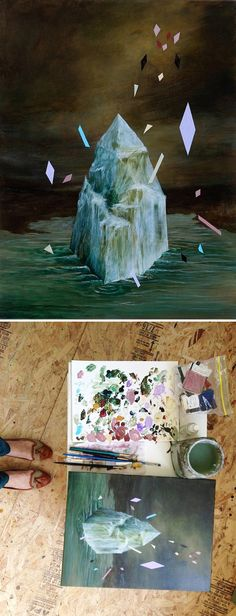 paintings by rebecca chaperon <3