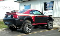 4x4 ford mustang in idaho