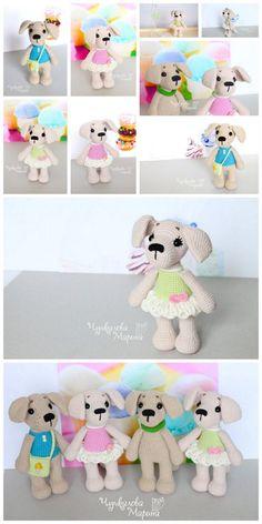 Amigurumi dog crochet plus free pattern – Free Amigurumi Patterns Crochet Baby Cocoon Pattern, Baby Afghan Crochet Patterns, Plush Pattern, Dog Crochet, Crochet Animals, Amigurumi Patterns, Crochet Dolls, Free Pattern, Free Crochet