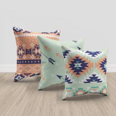 ★★ This listing is for a THREE throw pillow covers. If you want to add inserts for your pillow covers, buy 3 of these: