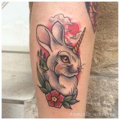Unicorn Bunny Tattoo