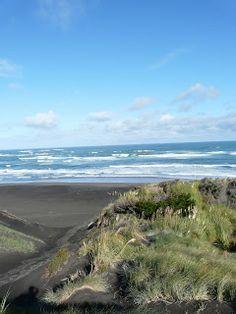 Ocean Beach Kawhia, NZ