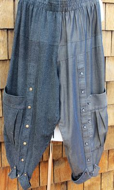 Mens Dress Pants, Dress Shirts, Winter Clothes, Winter Outfits, Recycled Mens Shirt, Sewing Projects, Diy Projects, Gypsy Clothing, Recycled Clothing