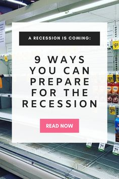 How to prepare for a recession. Financial Peace, Financial Tips, Survival Food, Survival Tips, Money Saving Challenge, Saving Money, Financial Information, Living On A Budget, Budgeting Finances