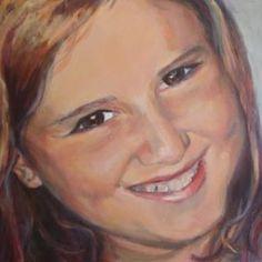schilderij portret door Lida Meines Mona Lisa, Draw, Child Portraits, Artwork, Painting, Paintings, Art Work, Kid Portraits, Work Of Art