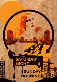 Homage to the book 'Saturday Night and Sunday Morning' by Alan Sillitoe