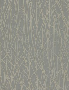 Grasses from Kallianthi collection by Clarissa Hulse for Harlequin - 110150 - Steel / Pewter