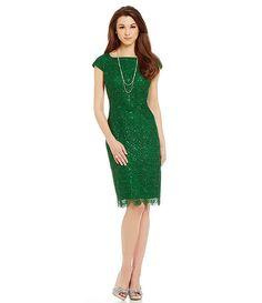 Antonio Melani Anika Lace and Sequin Dress