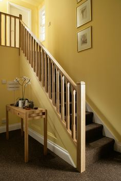 Traditional Stop Chamfered Style Oak Staircase