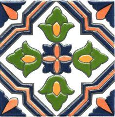 Azulejos Mayolica Con Relieve Patio Español Soy Fabricante