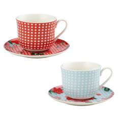 Anna Gare Oversized Tea Cup and Saucer from Domayne Online