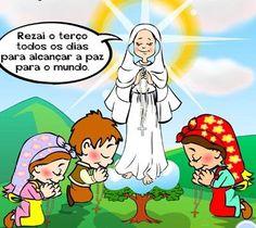 Ser Mais!: Uma Visita do Céu A história das aparições de Nossa Senhora aos pastorinhos, em Fátima.