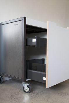 Von Sturmer - Trolley kitchens Filing Cabinet, Kitchens, Storage, Furniture, Design, Home Decor, Homemade Home Decor, Binder, Kitchen