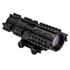 NcStar Tri-rail Series 3-9x42 Compact Scope-3 Rail Sighting System-Rangefinder-Weaver Mount