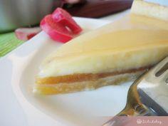 Vaníliás rebarbara torta | Sütidoboz.hu