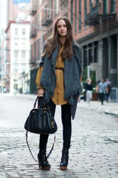 Street Talk: Winter Trends              Marc by Marc Jacobs bag
