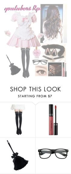 """Youtubers Rp 💖🍮🌸"" by squishy-bubble-tea ❤ liked on Polyvore featuring Sephora Collection"