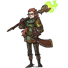 Female Character Design, Character Concept, Character Art, Character Reference, D D Characters, Fantasy Characters, Fictional Characters, Steampunk, Weapon Concept Art