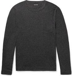 TOM FORDSlim-Fit Mélange Cotton and Cashmere-Blend T-Shirt