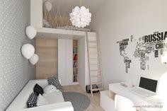 Dormitorios infantiles de estilo escandinavo por MIRAI STUDIO
