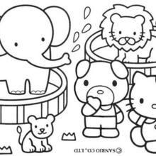 hello kitty 25 ausmalbilder für kinder. malvorlagen zum ausdrucken und ausmalen | hello kitty