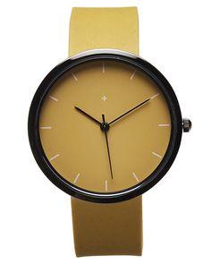 New I Love Ugly Men's Samuel Watch Stainless Steel Glass Men's Wristwatch Brown