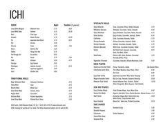 Ichi Sushi - Bernal Heights