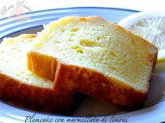 Plumcake con marmellata di limoni | Rose Passion