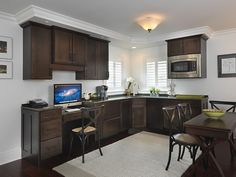 Media Room Kitchen Using Debut Cabinetry, Designed By Lisa Zompa Of Kitchen  Views, Warwick