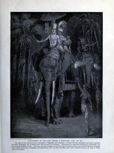 India History - Ajatashatru of Magadha makes a midnight call.