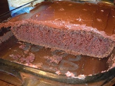 Do You Smell That!!?: Chocolate mayonnaise cake.  No eggs or oil.