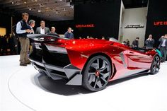 The Aventador J combines all the best bits of the Aventador line with explicit technology that just about makes it legal to drive on the streets.