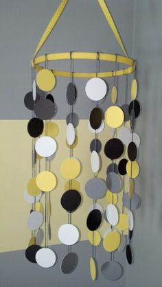 Mobile: We love this DIY mobile, especially because it matches our ideal crib bedding and rug!
