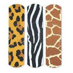 Animal Print Band-Aids
