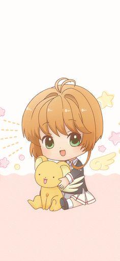 Sakura Kinomoto, Syaoran, Kawaii Wallpaper, Iphone Wallpaper, Sakura Card Captors, Clear Card, Manga Anime, Anime Dolls, Anime Life