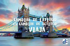 #Viajar es cambiar la actitud #Viaja con #Despegar