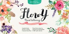 Font dňa – Flowy   https://detepe.sk/font-dna-flowy