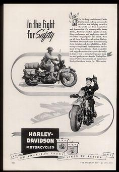 1943 Harley-Davidson MP Military & civilian police motorcycle
