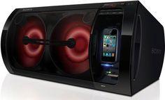 Sony G-Tank - Le Ghetto Blaster de 230 Watts + lecture iPhone a enfin un prix !