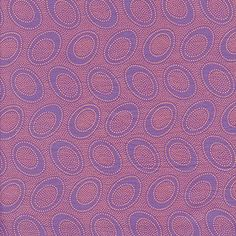FUNNY DOTS 100/% COTTON QUILT FABRIC PURPLE  FD-07 By The Yard
