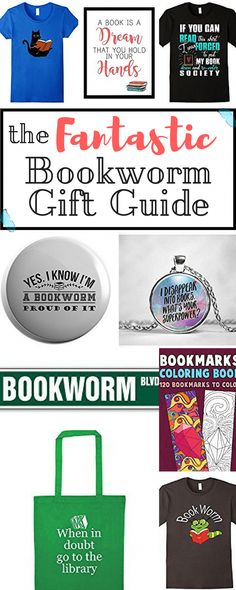 Do you know a bookworm that is in dire need of new stuff? Or are you a bookworm just like me in need of some cool presents that would go well with your reading mania? Here's the fantastic bookworm gift guide made especially for you! Gifts For Bookworms, Cool Presents, Christmas On A Budget, Especially For You, How To Better Yourself, Going To Work, Super Powers, Positive Vibes, Book Worms