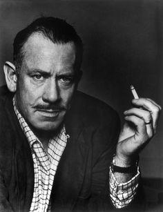 John Steinbeck by Philippe Halsman, 1953