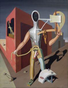 The haunting surrealism of Victor Brauner Victor Brauner, Rivers In The Desert, Home Beauty Salon, Surreal Artwork, Centre Pompidou, Max Ernst, Unusual Art, Pop Surrealism, Fantastic Art