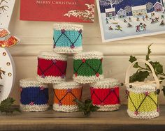 Knitted Christmas Drum