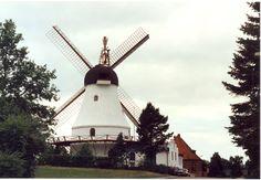 Oldest Windmill in Vejle, Denmark